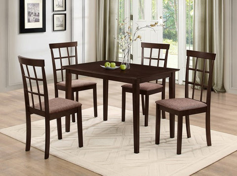 ANNS 5 PCS DINING SET