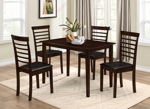 DELANEY 5 PCS DINING SET