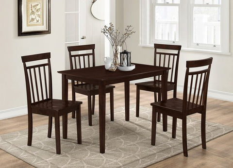 MALROY 5 PCS DINING SET