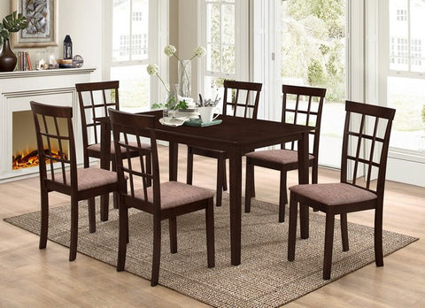 ANNS 7 PCS DINING SET