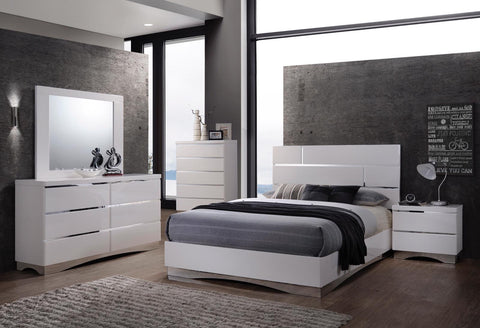 VIENNA WHITE BEDROOM COLLECTION