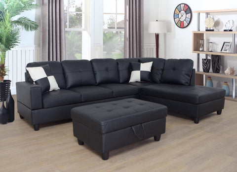 BELLA DARK SECTIONAL SOFA