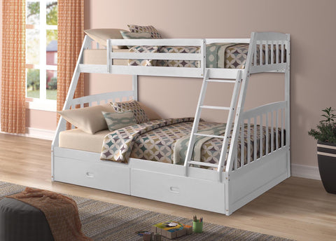 MALVERN WHITE BUNK BED