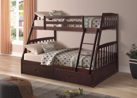 MALVERN DARK BUNK BED