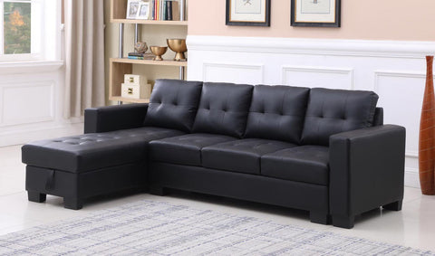 CLAIRE DARK SECTIONAL SOFA