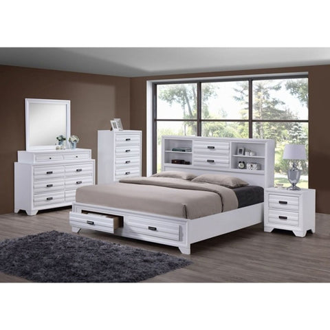 SHELBY WHITE BEDROOM COLLECTION