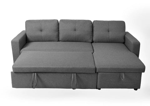CERENE DARK SECTIONAL SOFA