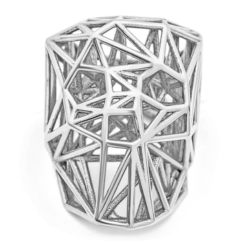 Wired Skullz - Ring - 925 Sterling Silver - Gab Mc Neil