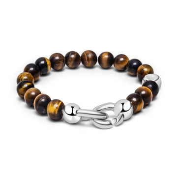 Orb - Bracelet - 925 Sterling Silver - Tiger Eye - Gab Mc Neil