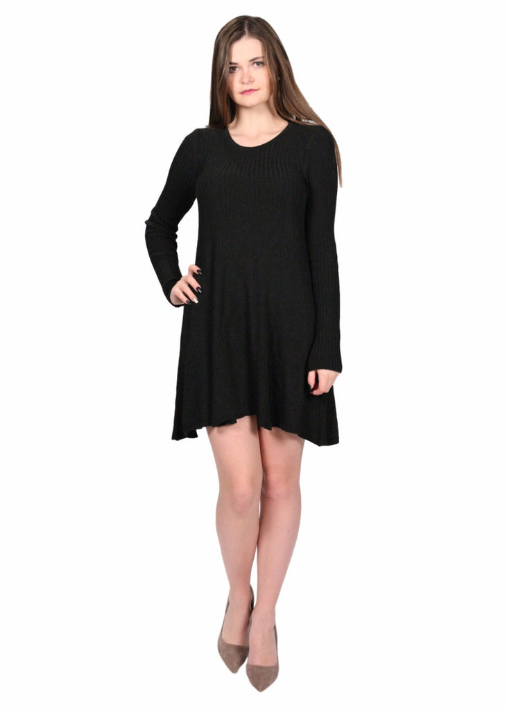 BORGEN Knitted Long Sleeve Dress