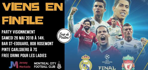 image party ligue des champions 2018