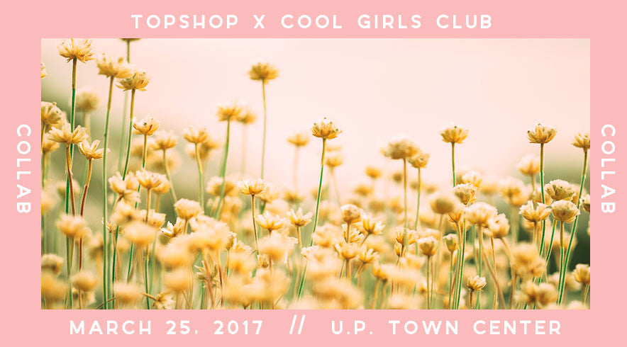 The Great Topshop x CGC Collab