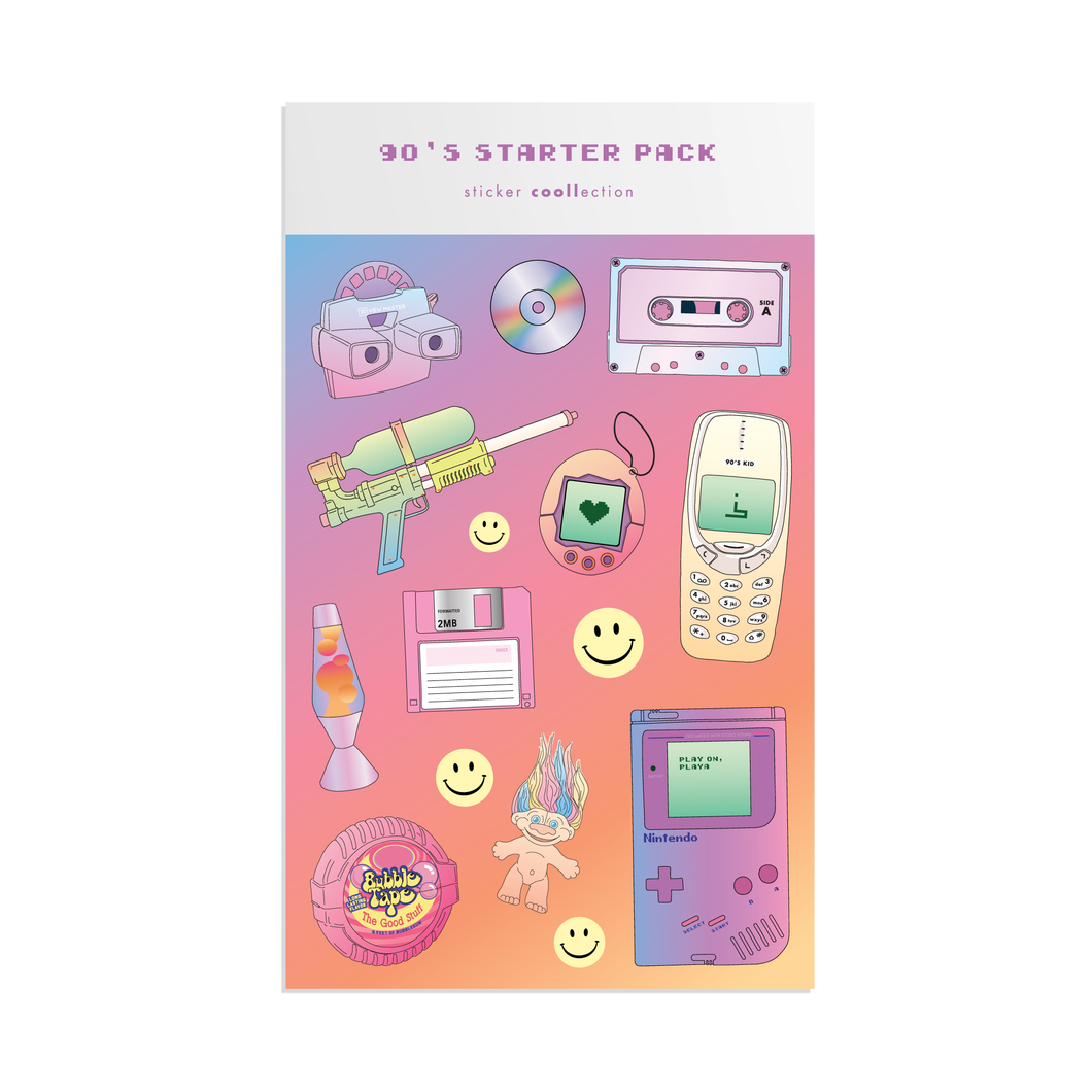 90's Sticker Sheet
