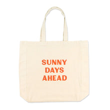 Load image into Gallery viewer, Cool Girls Club Rituals Collection Sunny Days Ahead Tote Bag