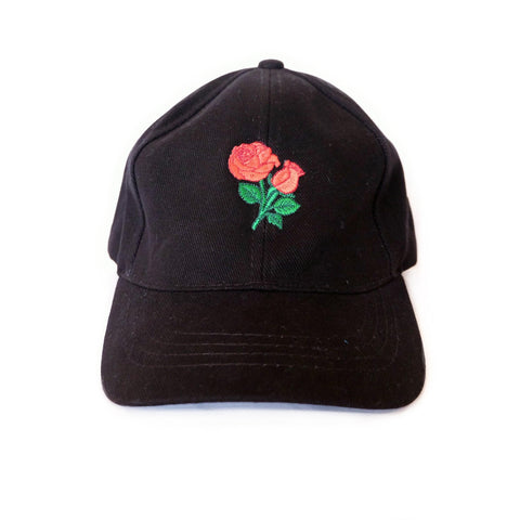Rose Cap (Black)