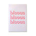 Cool Girls Club Bisous Bisous Bisous Greeting Card