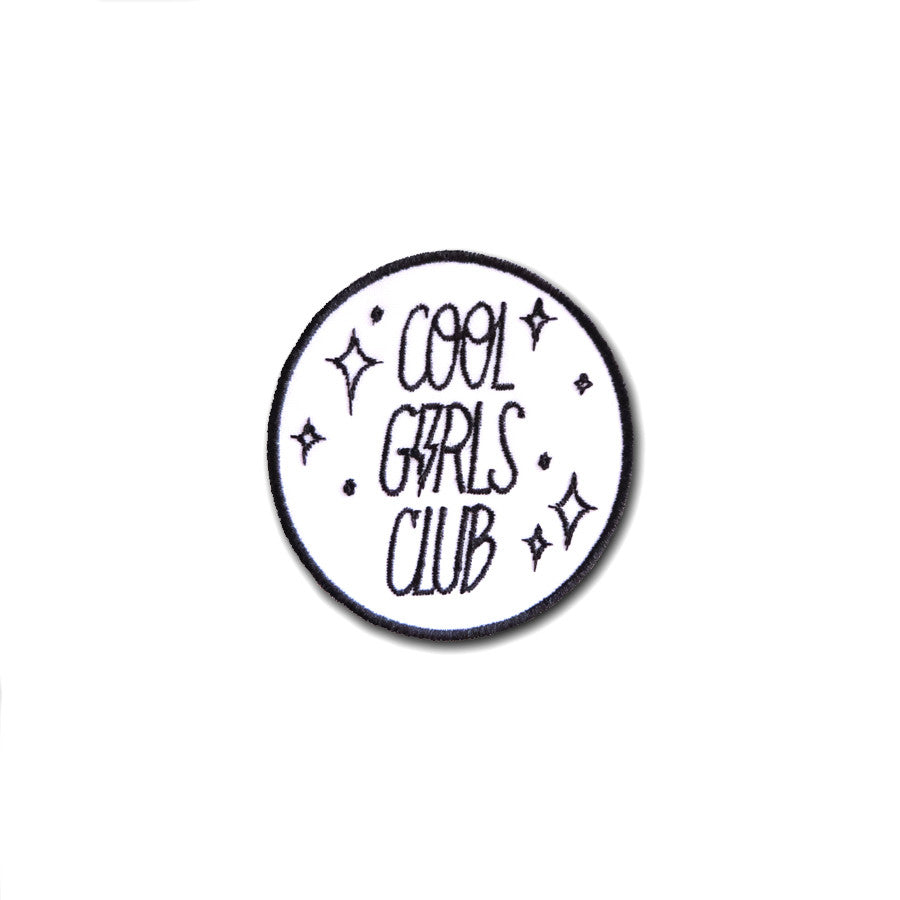 Cool Girls Club Logo Patch