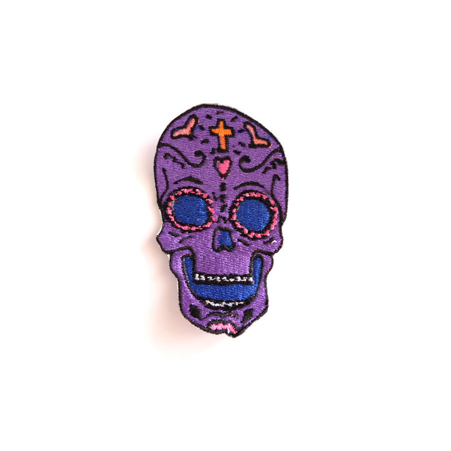 Cool Girls Club Skull Patch