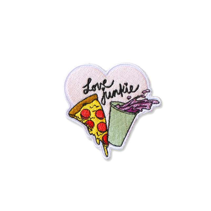Cool Girls Club Love Junkie Pizza and Soda Patch