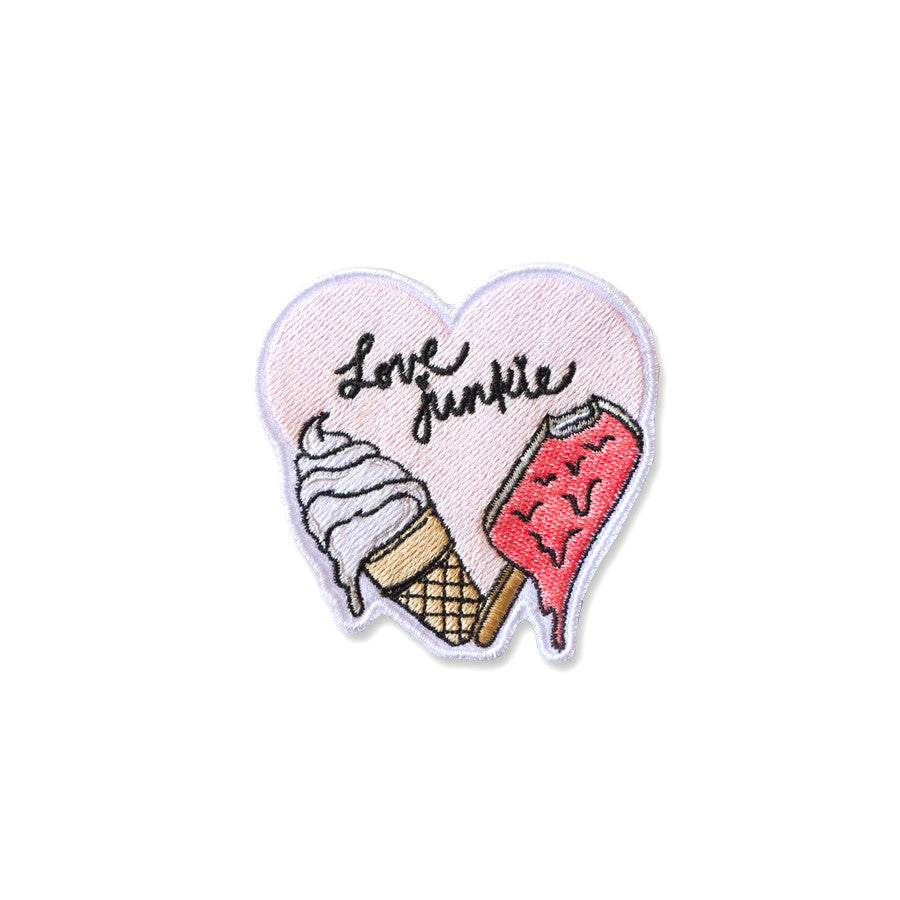 Cool Girls Club Love Junkie Ice Cream and Popsicle Patch