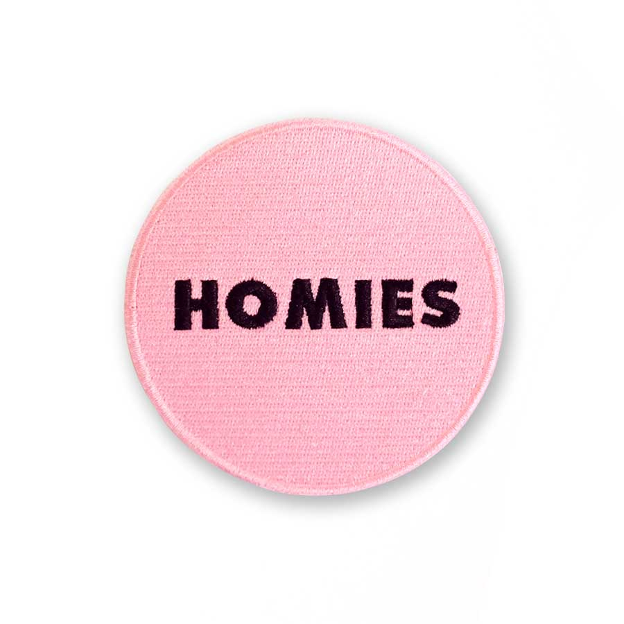 Cool Girls Club Pink Homies Patch