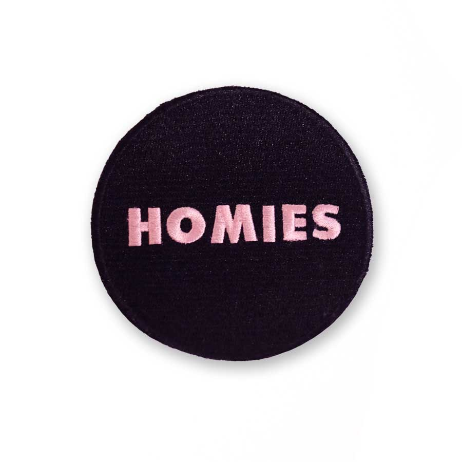 Cool Girls Club Black Homies Patch