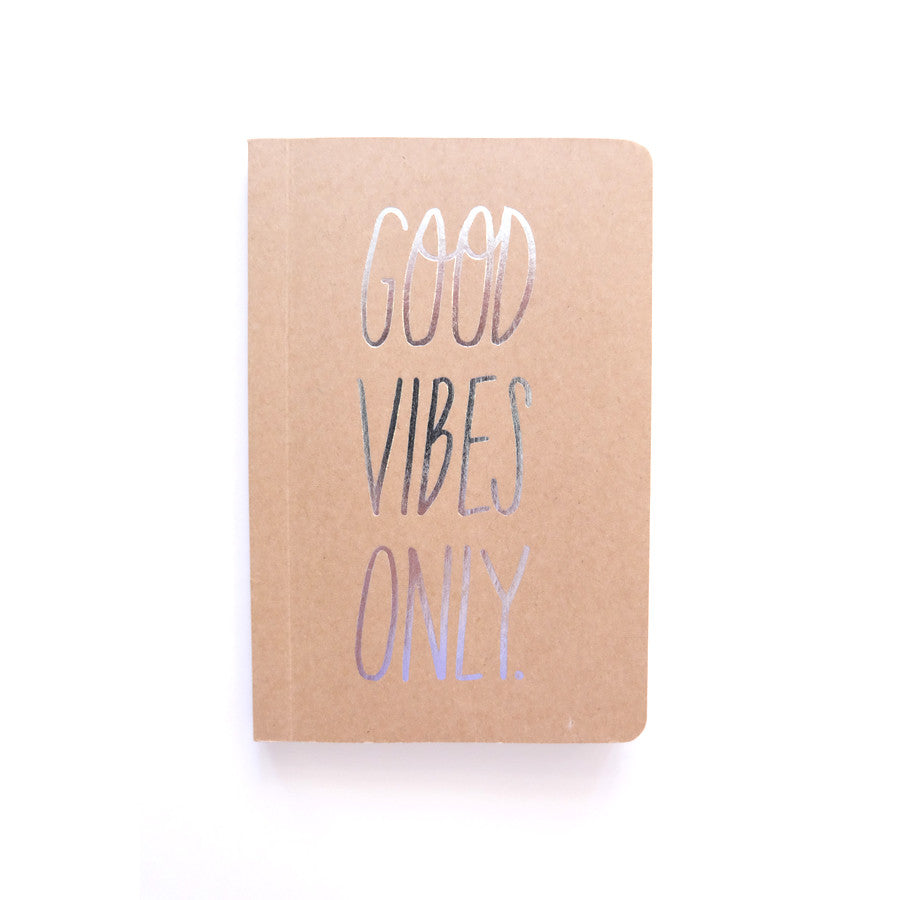 Cool Girls Club Good Vibes Only Pocket Notebook