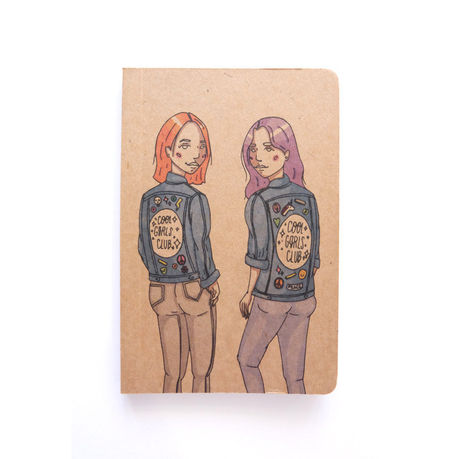 Cool Girls Club R and D Pocket Notebook