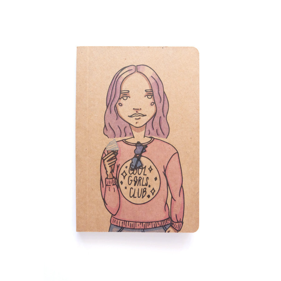 Cool Girls Club Keep It Cool Pocket Notebook