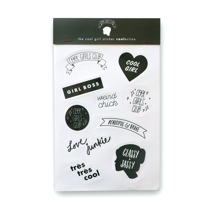 Cool Girls Club Girlboss Sticker Coolection