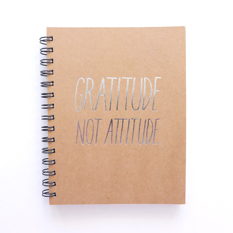 Cool Girls Club Gratitude Not Attitude Ruled Journal