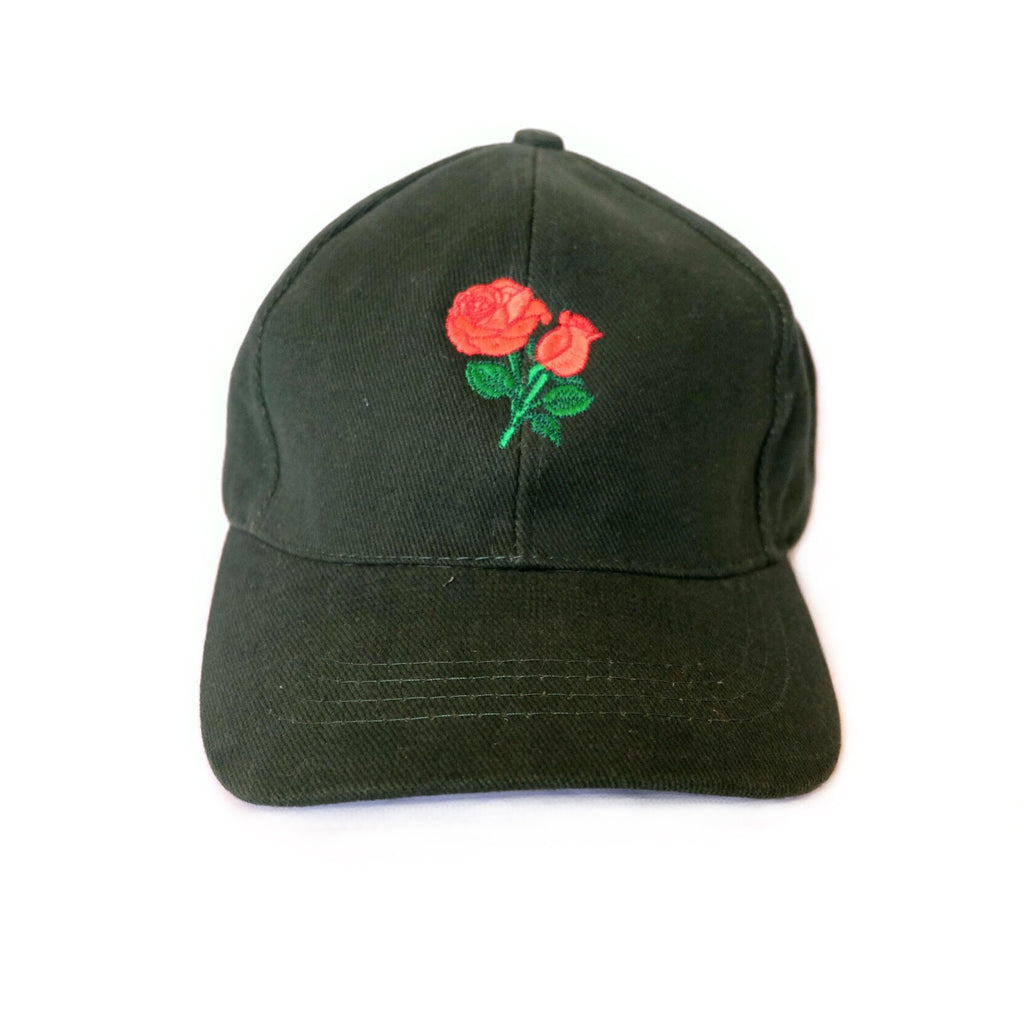 Rose Cap (Forest Green)