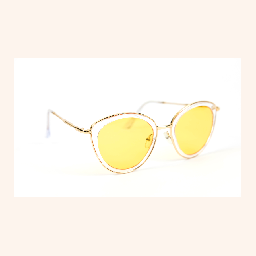 Cool Girls Club Lemonade Tinted Sunglasses