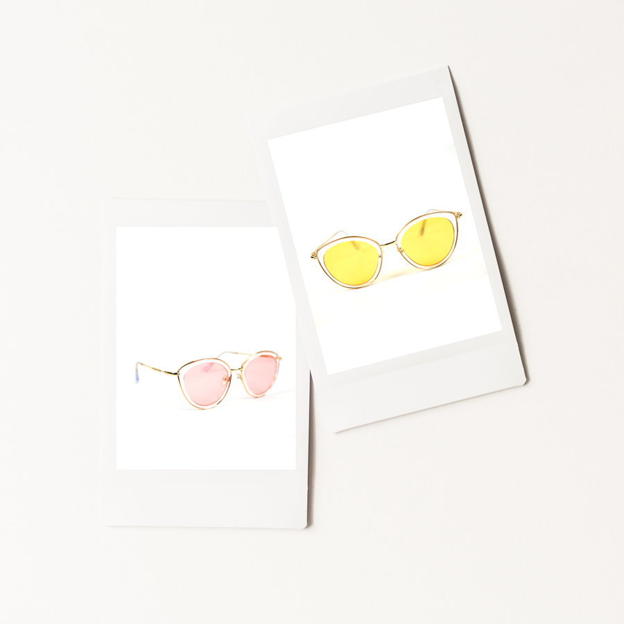 Cool Girls Club Lemonade Sunglasses Duo