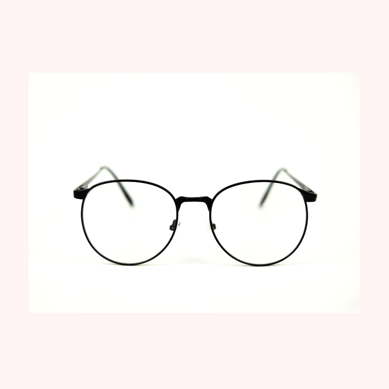 Cool Girls Club Merlot Eyeglasses (Matte Black)