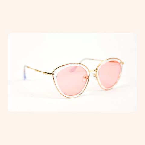 Cool Girls Club Pink Lemonade Sunglasses