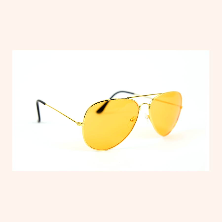 Cool Girls Club Tequila Sunrise Tinted Sunglasses