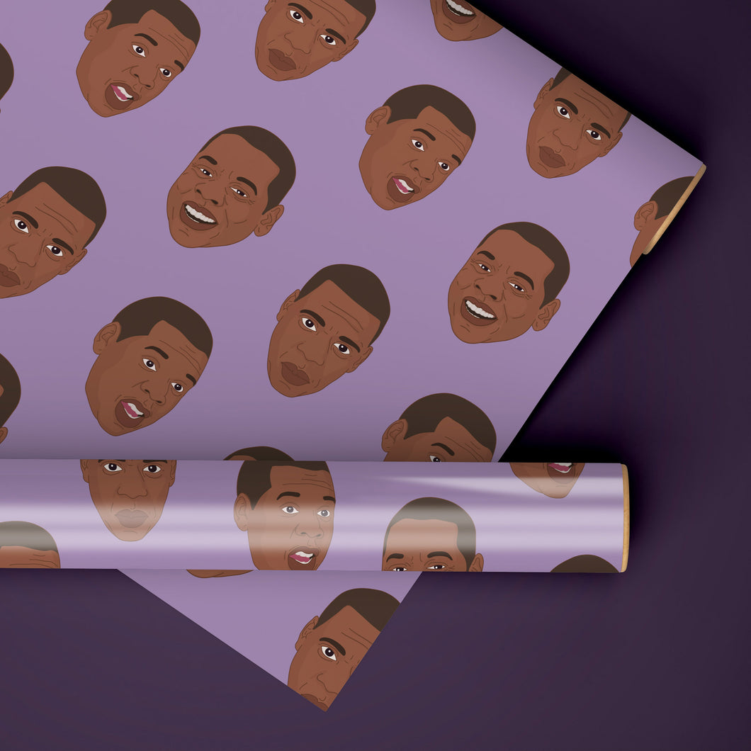 Jay-Z Rapping Paper