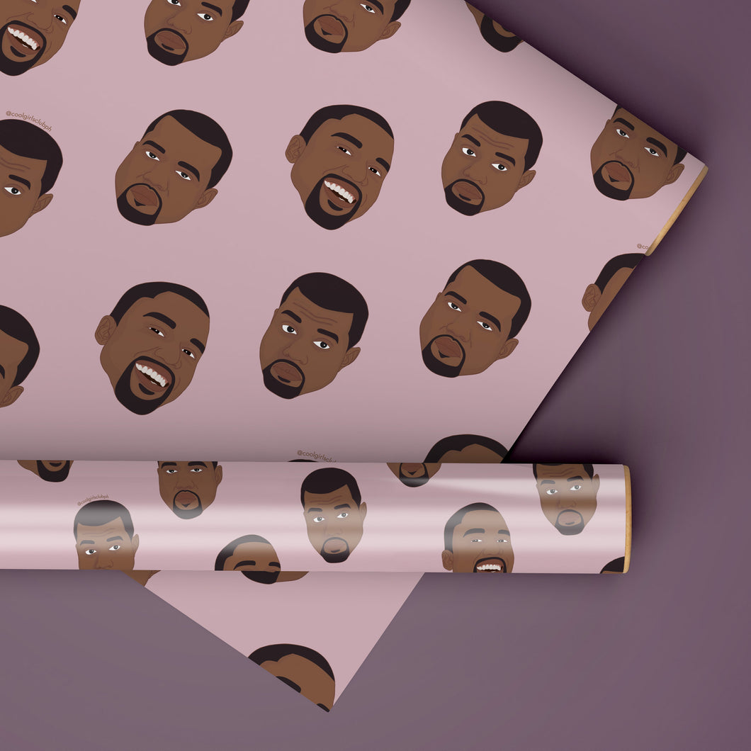 Kanye Rapping Paper Set
