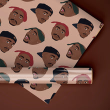 Load image into Gallery viewer, Tupac Rapping Paper Set