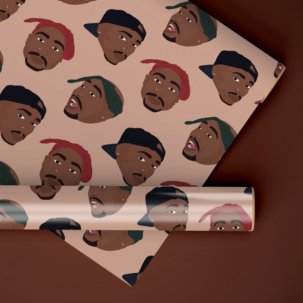 Tupac Rapping Paper Set