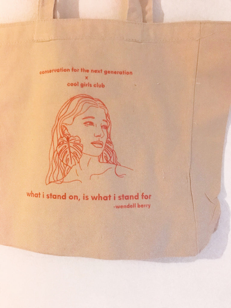 What I Stand For Tote Bag