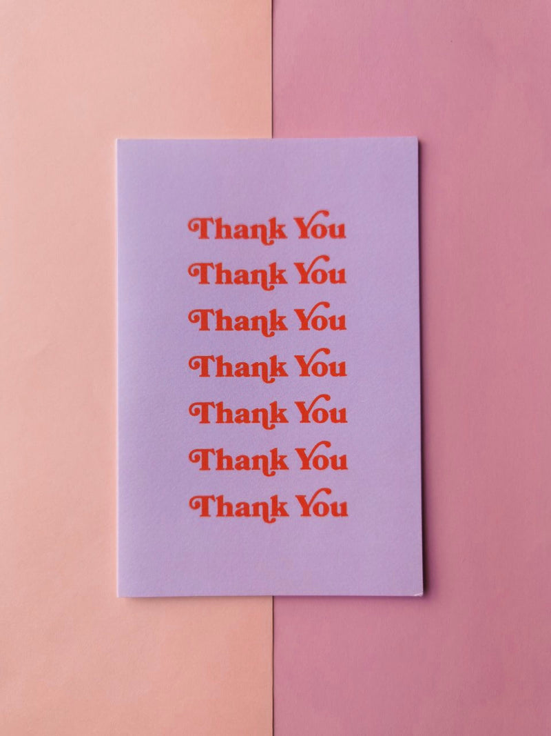 Many Thanks Greeting Card