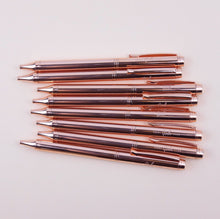 Load image into Gallery viewer, Cool Girls Club Rose Gold Ballpen