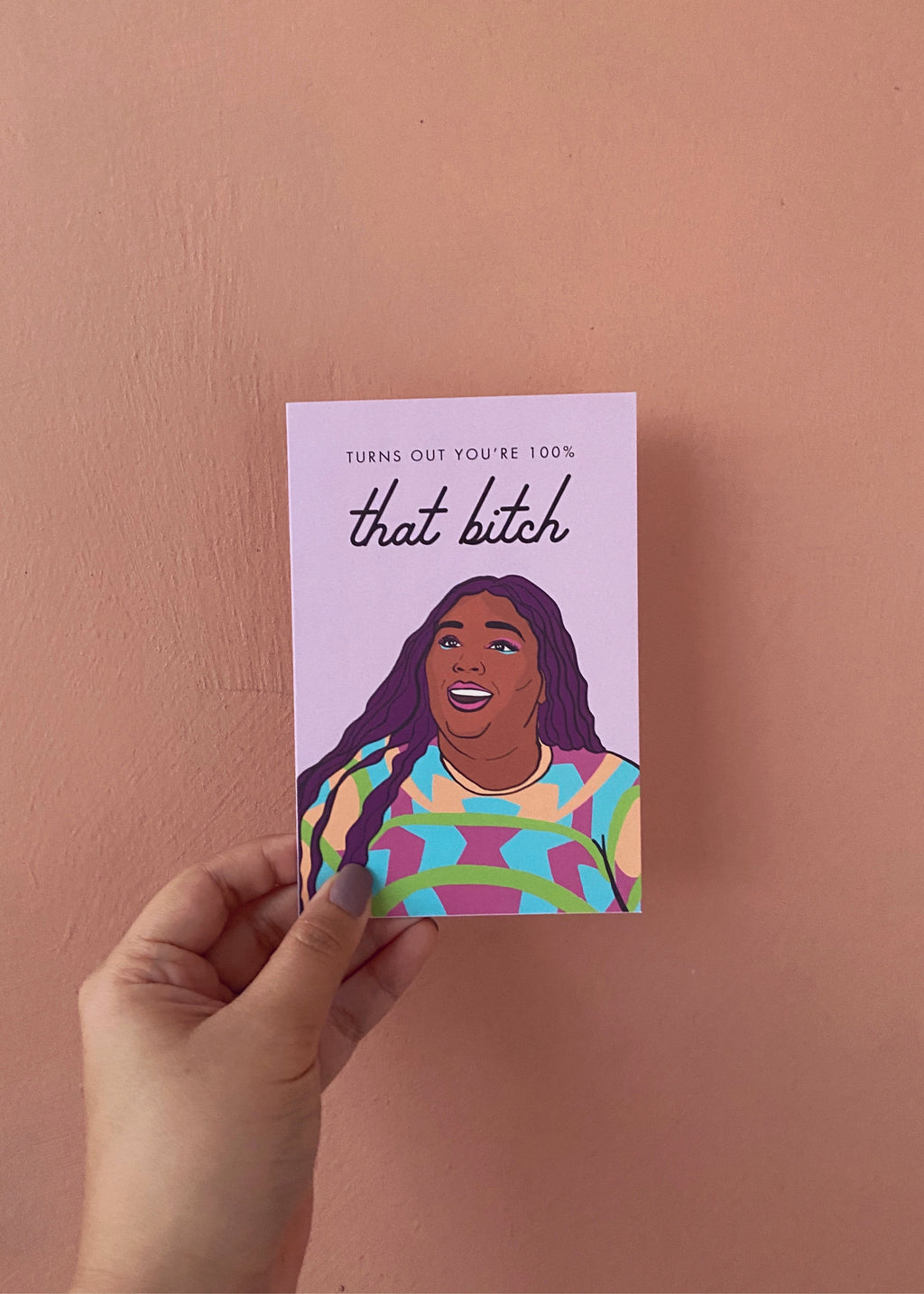Lizzo Greeting Card