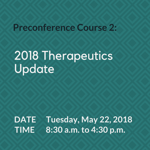 2018 Therapeutics Update / CSPT Trainee