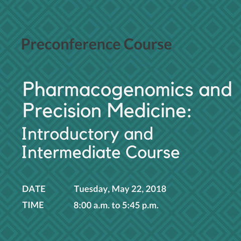 Pharmacogenomics Course / CSPT Trainee Member