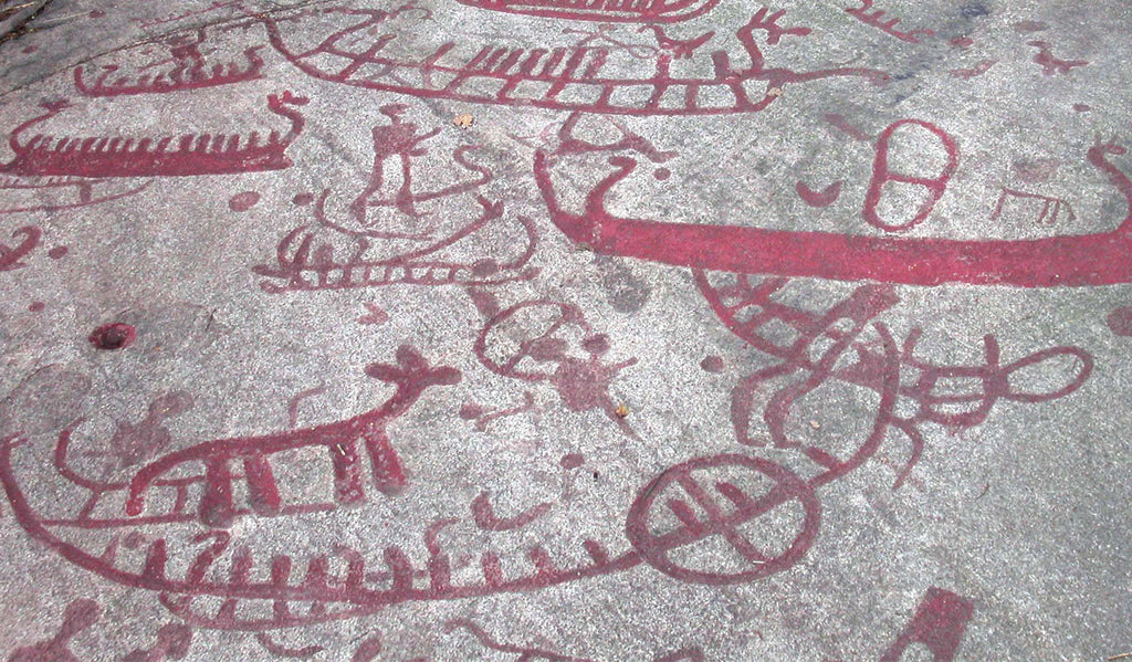 Petroglyphs Left in Canada by Scandinavians?