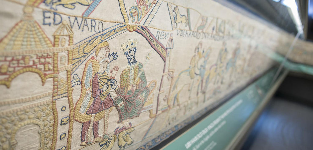 Bayeux Tapestry Headed To England