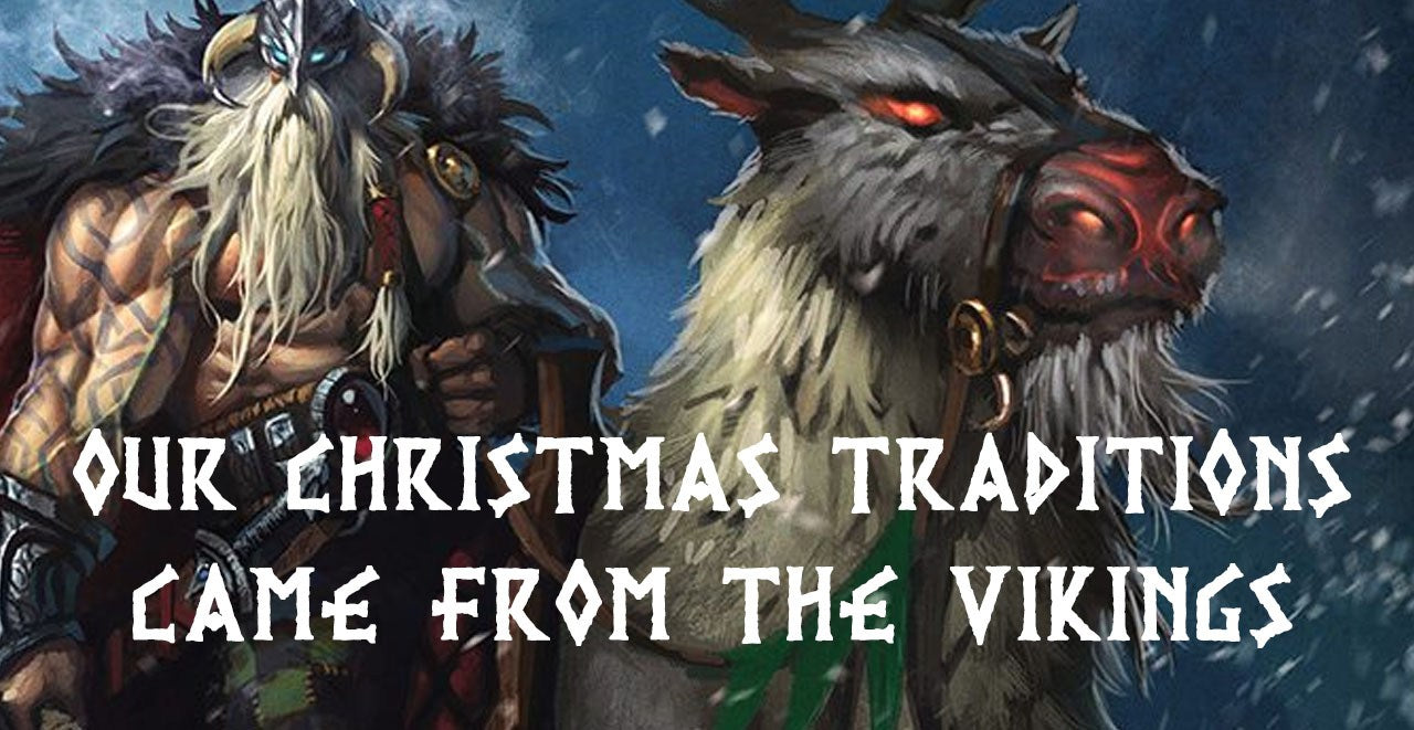 Christmas Yule Traditions Viking Origins - InventoryBag
